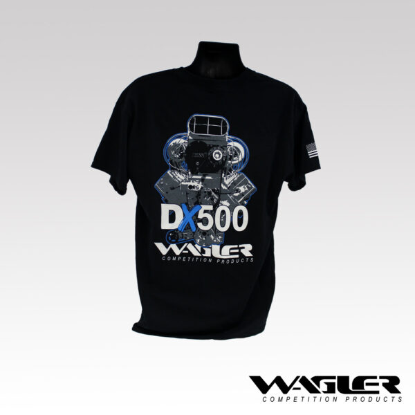 Back of DX500 Shirt
