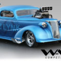 CRITICAL MASS MOTORSPORTS SCREW-BLOWN DIESEL-POWERED 1937 CHEVY COUPE PRO MOD